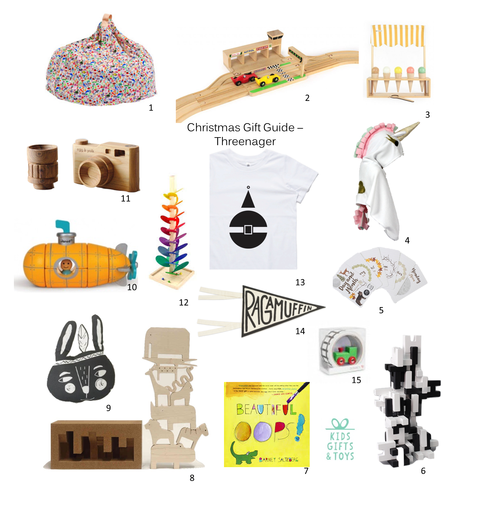 KGT Xmas gift guide age 3
