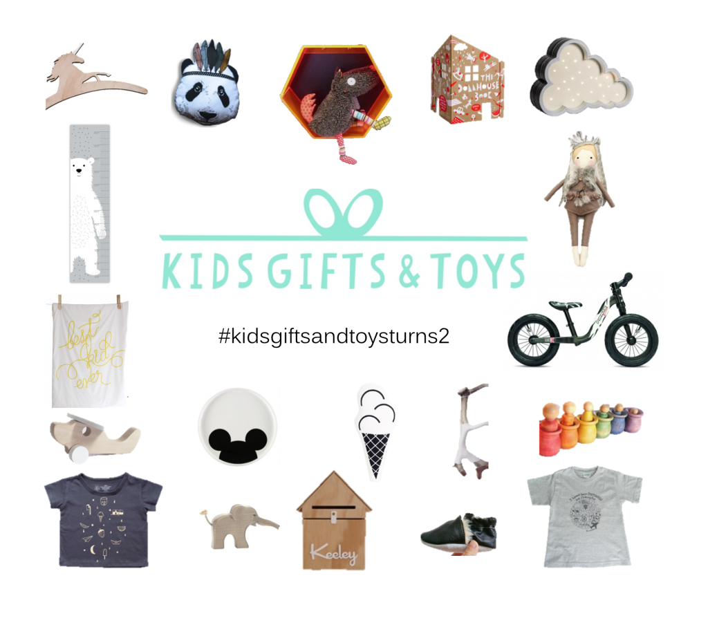 Kids gifts and toys turns 2 loop image - updated