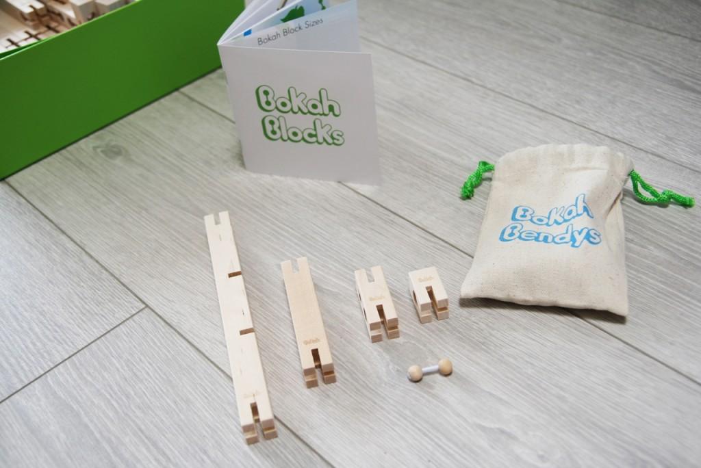 Bokah blocks in size
