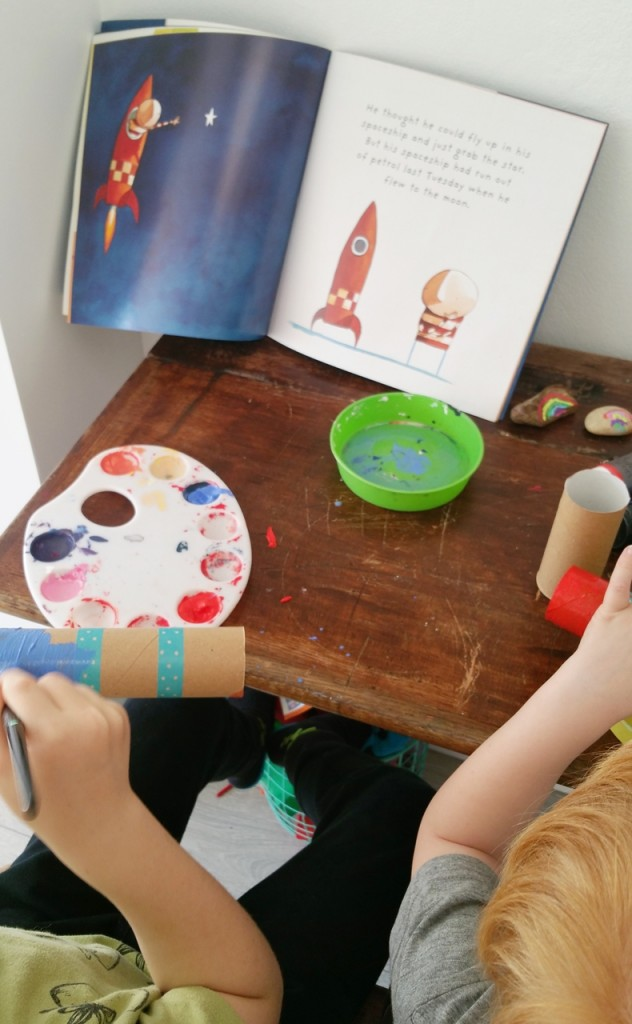 Book inspired craft - how to catch a star 2 rs
