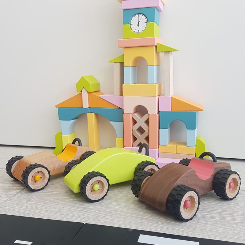 Playme Wooden Cars toy review- Kids Gifts and Toys