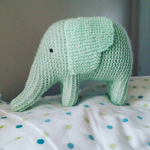 KnitSquid-crochet-knit-amigurumi-toy-elephant