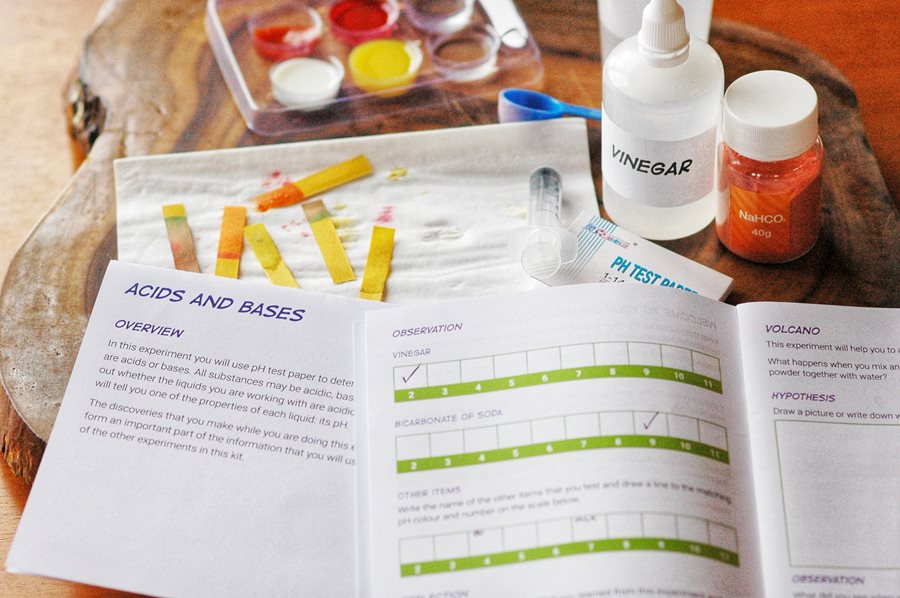 Curious Kids Science Kit pH test Review